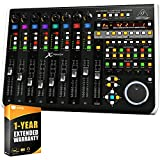 Behringer X-Touch Universal Control Surface & Ethernet/USB/MIDI Interface Bundle with 1 Year Extended Warranty