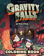 Gravity Falls Coloring Book: Great coloring book for GravityFalls fans