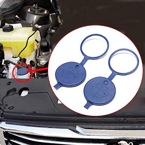 YSHtanj - Tapa para decoración de interiores, ideal para limpiaparabrisas o depósito de Peugeot y Citroën, el paquete incluye 2 unidades, color azul