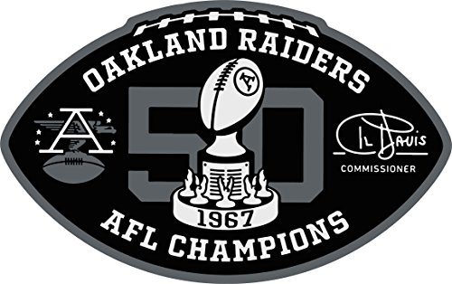 RN4Life Raiders 50 Year 1967 Anniversary Patch Raider Nation Raiders Patches Iron Patch Oakland Raiders