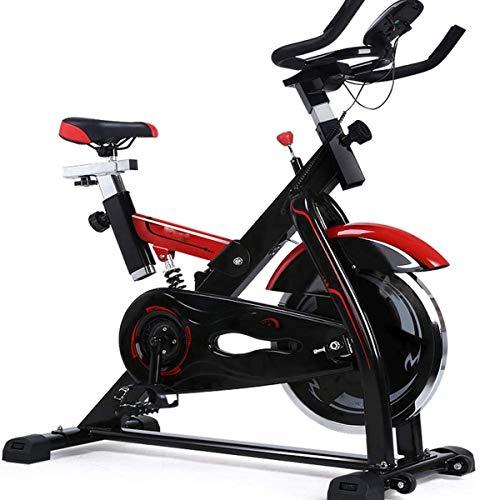 Cycling Bike, Exercise Bike met handsensoren en LCD-scherm Instelbare Sturen & Seat, Ideal Cardio Trainer