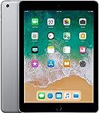 Apple iPad 6th Gen Wi-Fi 128GB Space Gray - Early 2018 (Renewed)