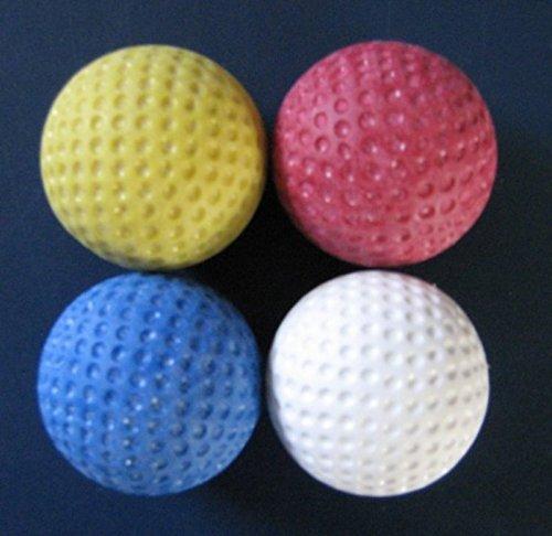 Golfas Minigolfbälle 4er Pack - für Jede Anlage