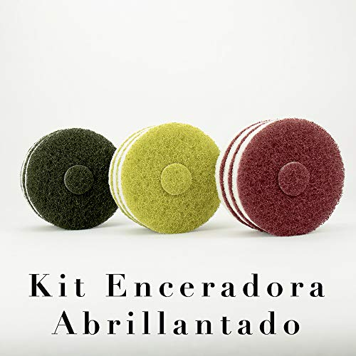 Kit Enceradora Pads 125 Solo Abrillantado