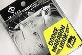 レイドジャパン ダッジマラブーフック RAIDJAPAN DODGE MARABOU HOOK 001 WHITE 2個入