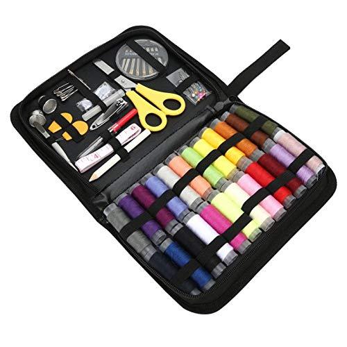 コンパクトな耐久性のあるミシンアクセサリー刺繍用品、ソーイングキット、初心者向けポータブル