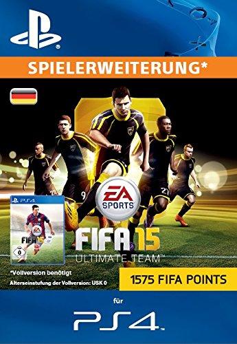 1575 FIFA 15 Ultimate Team Points [Zusatzinhalt][PSN Code für deutsches Konto]