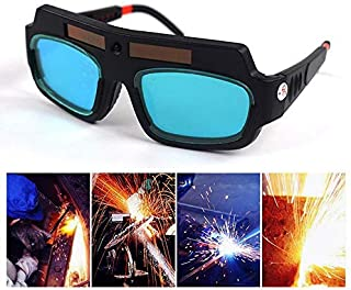 Teepao Gafas de protección para Soldadura Gafas para soldar fotosensible Gafas para Soldadura de Hilo Solar