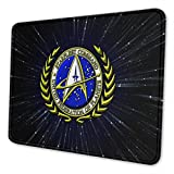 Star-Trek Mouse Pad Rectangle Rubber Anime Mouse Pad Gaming Mouse Pad (Multiple sizes)