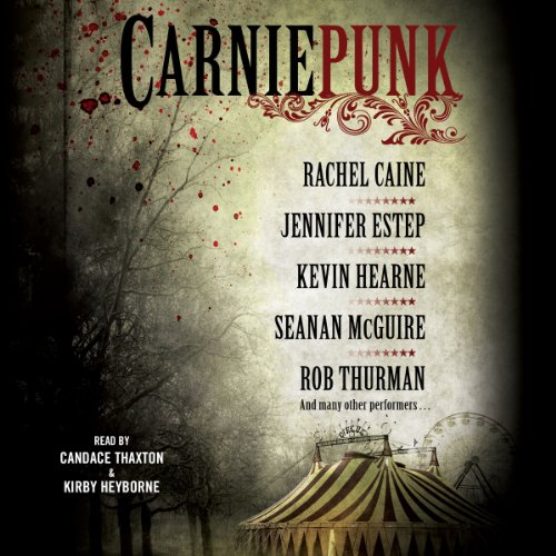 Carniepunk audiobook cover art