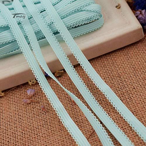 #1479 Kleine linten Elastiek Elastische Bands voor Ondergoed Pant Bra Tutu Kant Stretch Edge Rubber Strap Infant Kids Hoofdbanden DIY