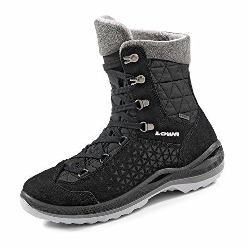 Lowa Calceta II GTX Ws Damen Wanderstiefel Tracking Outdoor Goretex Schwarz, Schuhgröße:40 EU