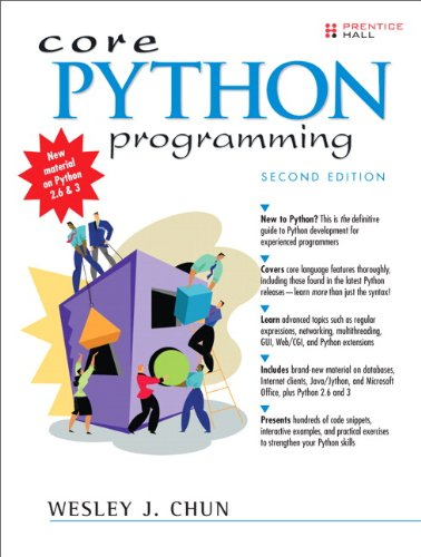 Core Python Programming (2nd Edition)