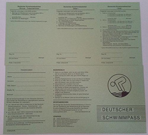 Grevinga® Deutscher Schwimmpass