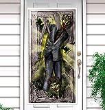 Amscan 240342-55 - Türdekoration Zombies, Größe 165,1x85