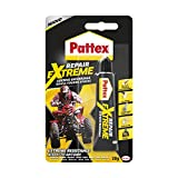 Pattex Repair Extreme Colla universale, Colla trasparente multimateriale per interni ed esterni, Colla impermeabile e resistente ad alte temperature, 1 x 20g tubo