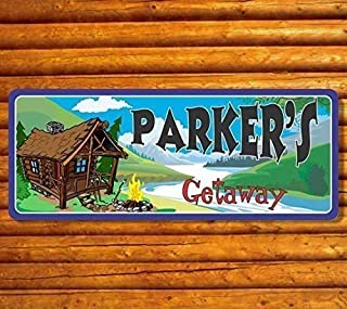 custom cabin signs