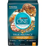 Purina ONE Natural, Grain Free Dry Cat Food, True Instinct Grain Free With Real Chicken - 3.2 lb. Bag