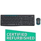 (Renewed) Logitech MK275 Wireless Keyboard and Mouse Combo