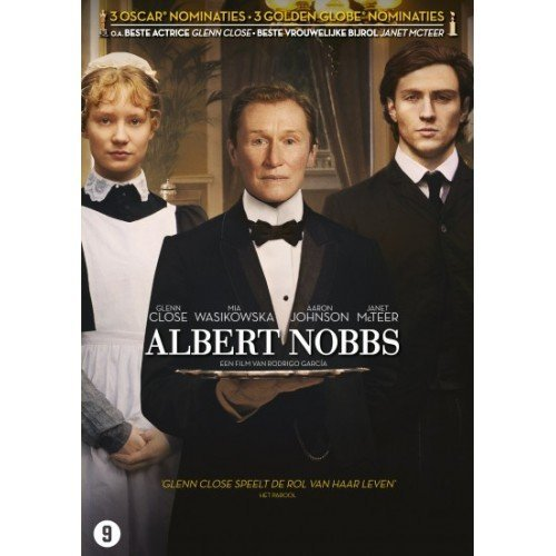 Albert Nobbs DVD.. by Mia Wasikowska, Aaron Taylor-Johnson, Janet McTeer, Jonathan Rhys Meyers Glenn Close
