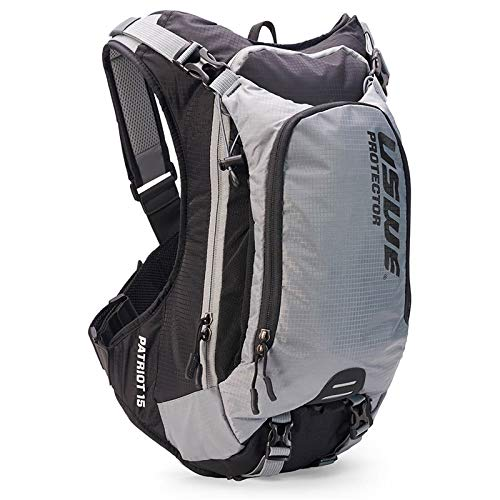 USWE Airborne 15L with accessible phone pocket Black//Gray