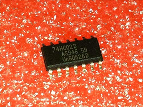 10 teile/los 74HC02 74HC02D logik p SMD 3,9mm schmale SOP14 original authentisch