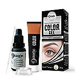 Demure Color Gel Augenbrauen- und Wimpernfarbe 30g, Professional Formula Augenbrauen- und...