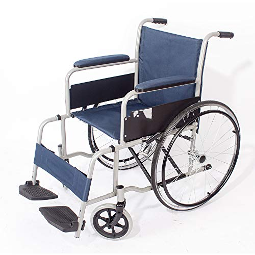 Best Prices! Lightweight Wheelchair Self Propelled Wheelchair, Lightweight Mobility Device for Elder...