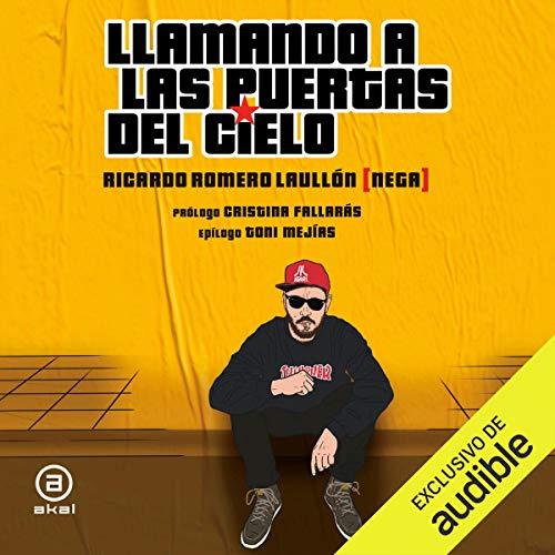 Diseño de la portada del título Llamando a las Puertas del Cielo (Narración en Castellano)