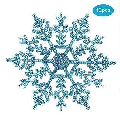 WINBST Weihnachtsfeier Dekoration Schneeflocke