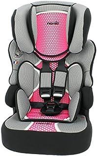 MyCarSit. Silla de coche con respaldo alto para niños de 9 a 36 kg, color rosa