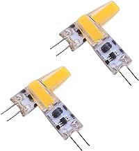 LEDMOMO COB Bulb, 4PCS G4 Bulb AC/DC12V 2700-3000 Lumens 2W 20W Halogen EquivalentBi-Pin Base - Warm White