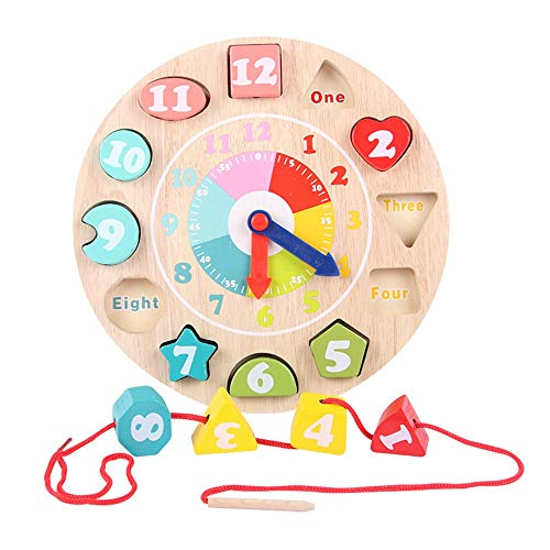 Great Price! Building Blocks Large Lacing Bead Set for Kids,Bead Stringing for Toddlers Educational ...