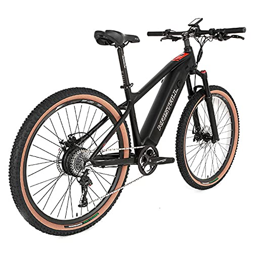 ZISITA Electric Bicycle Ebike Adults Bike500W with Removable Lithium-Ion Battery 48V 10A for Men Adults, Shimano 7 Speed Transmission Gears Double Disc Brakes,29inch