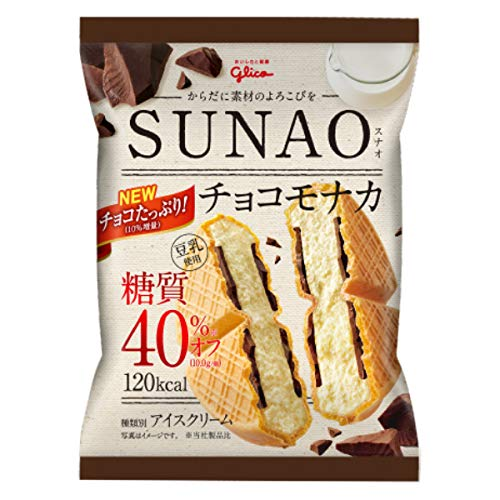 グリコ SUNAO チョコモナカ 82ml ×36袋