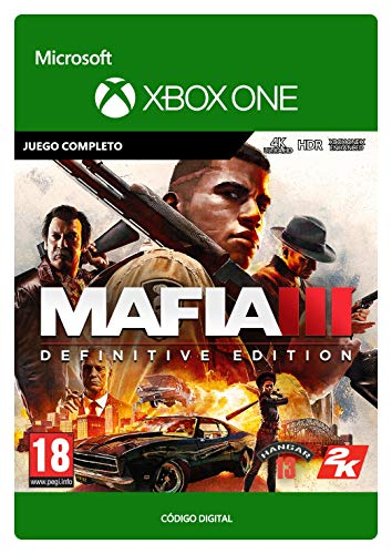 Mafia III Definitive Edition   Xbox One - Código de descarga