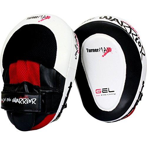 TurnerMAX–Manoplas de Entrenamiento Curvas para Boxeo Guantes de Boxeo Artes Marciales