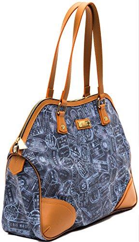 ALVIERO MARTINI Borsa Spalla Donna Piccola Denim Small Bag Woman Blue