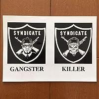 RHYME SYNDICATE ステッカー