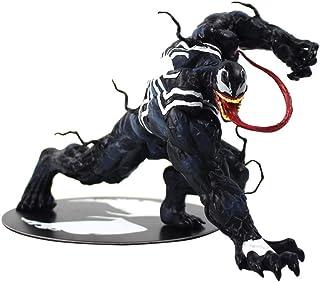 Modelo De Animethe Avengers Amazing Spiderman Venom Figure Toy 1/10 Scale Statue Kit De Modelo Prepintado Regalo