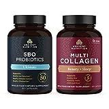 SBO Ultimate Probiotics and Multi Collagen Beauty + Sleep Capsules Bundle