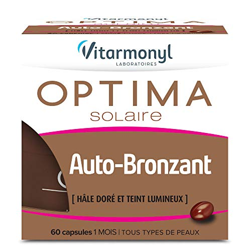 comparateur VITARMONYL – Optima Self Tanning – Golden Hale & Shiny Skin Non Exposed to Sunlight – 60 Capsules