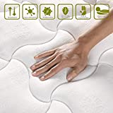 Inofia Queen Mattress, Super Comfort Hybrid Innerspring Double Mattress with Dual-Layered Breathable Cool Cover,...
