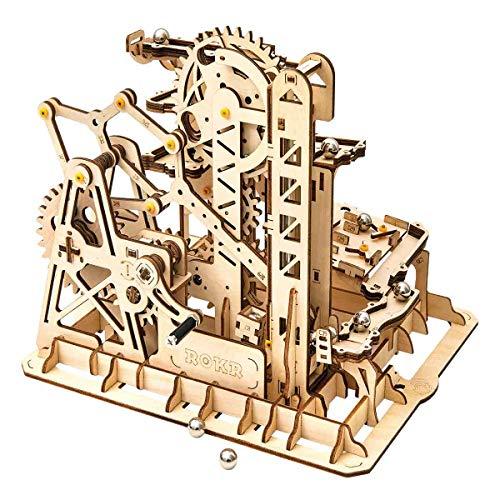 ROKR 3D-Puzzle aus Holz, mechanische Modellbausätze für Jugendliche und Erwachsene, Turm-Untersetzer