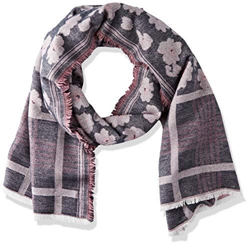 ESPRIT Accessoires Damen 100EA1Q305 Mode-Schal, 001/BLACK, 1SIZE