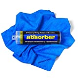 CleanTools 42149 The Absorber Synthetic Drying Chamois, 27' x 17', Blue