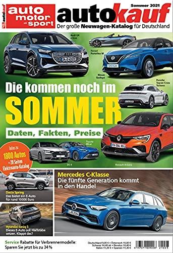 autokauf 03/2021 Sommer: Der große Neuwagen-Katalog für Deutschland
