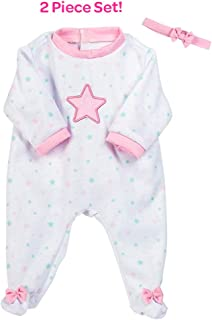 Adora Baby Doll Clothes & Accessories Adoption Fashion Shining Star, Fits Most 16 inch Baby Dolls