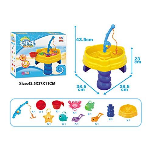 Inside Out Toys Zand En Water Speeltafel, Plein Water Wheel En Waterval, Een Tal Van Accessoires Om Te Genieten Van Zand of Water Play,A