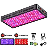 BESTVA DC Series 4000W LED Grow Light Full Spectrum Grow Lamp for Greenhouse Hydroponic Indoor Plants Veg and Flower
